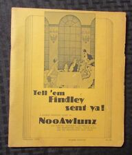1976 TELL 'EM FINDLEY SENT YA! 8th Ed. City of New Orleans Guide Plantations 40p