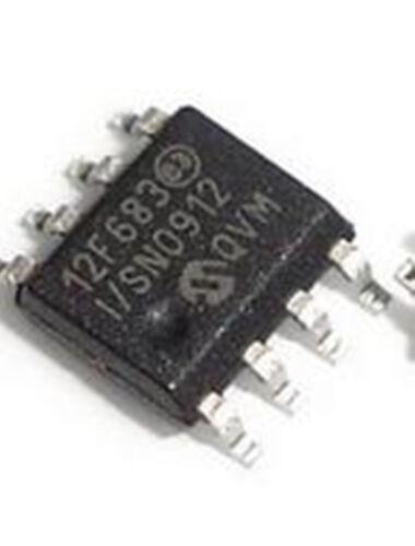 50Pc NEW Pic12f683 Pic12f683-I//Sn Mcu 8Bit 3.5Kb Flash 8Soic