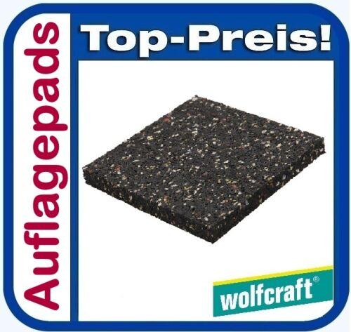 1 von 1 - WOLFCRAFT 6987000 Terrassenbau Auflagepads 20 Stück Terrasse Unterkonstruktion