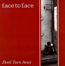 DAMAGED ARTWORK CD Face to Face: Don't Turn Away