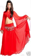 Belly Dance Costume Set - Top, Saia, Scarf