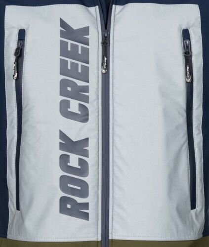 Rock Creek Herren Softshell Jacke Übergangsjacke Wanderjacke Windbreaker H-238