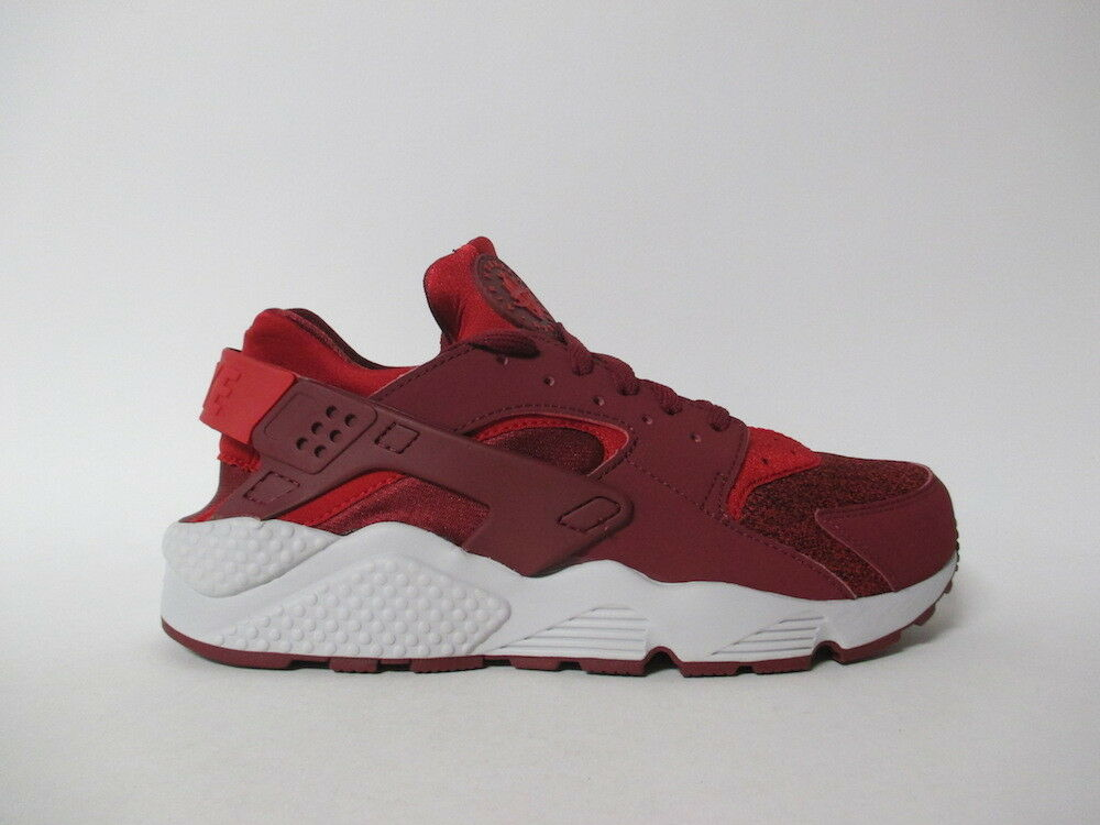 Nike Air Huarache Team Red University Red Grey Sz 9.5 318429-605
