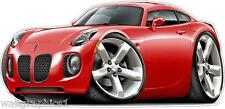 2010 Pontiac Solstice Turbo Fire Wall Decal Graphic Art Home Decor Man Cave NEW