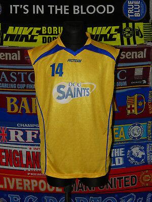 Ingenious 4.5/5 Dcu Saints Adults L #14 Basketball Shirt Jersey Trikot 100% High Quality Materials Other