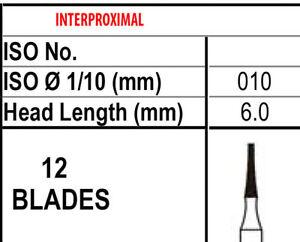 10 Fraises 12 Lame Parage & Finitions Carbure 7602,fait En Canada,meilleure