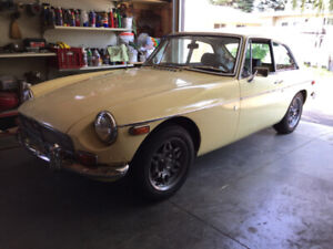 71 MGB GT - PRICE JUST DROPPED $1000.