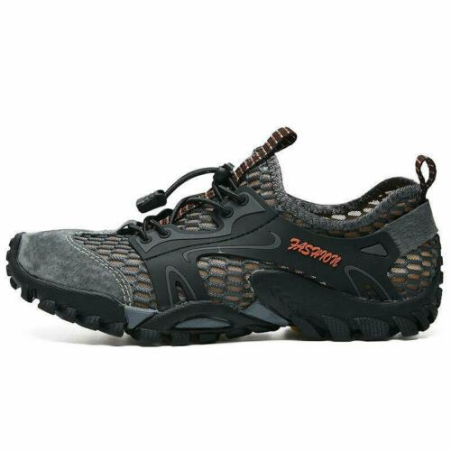 Men/'s Breathable Outdoor Climbing Water Shoes Hiking Non-slip Waterproof Mesh