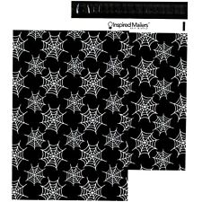Halloween Spiderwebs Printed Poly Mailers 10x13 Pack Of 100