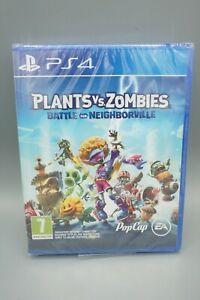 Plants Vs. Zombies: Battle for Neighborville (PS4) Brand New Sealed UK VERSION