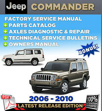 2006 2010 jeep commander xk factory oem service repair workshop rh ebay com 2006 jeep commander service manual 2006 jeep commander owners manual