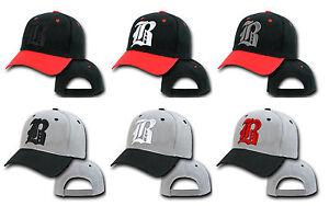 NEW-Casual-BASEBALL-CAP-B-HAT-SNAP-BACK-Adjustable-Strap-Unisex-Mens-Women-Black