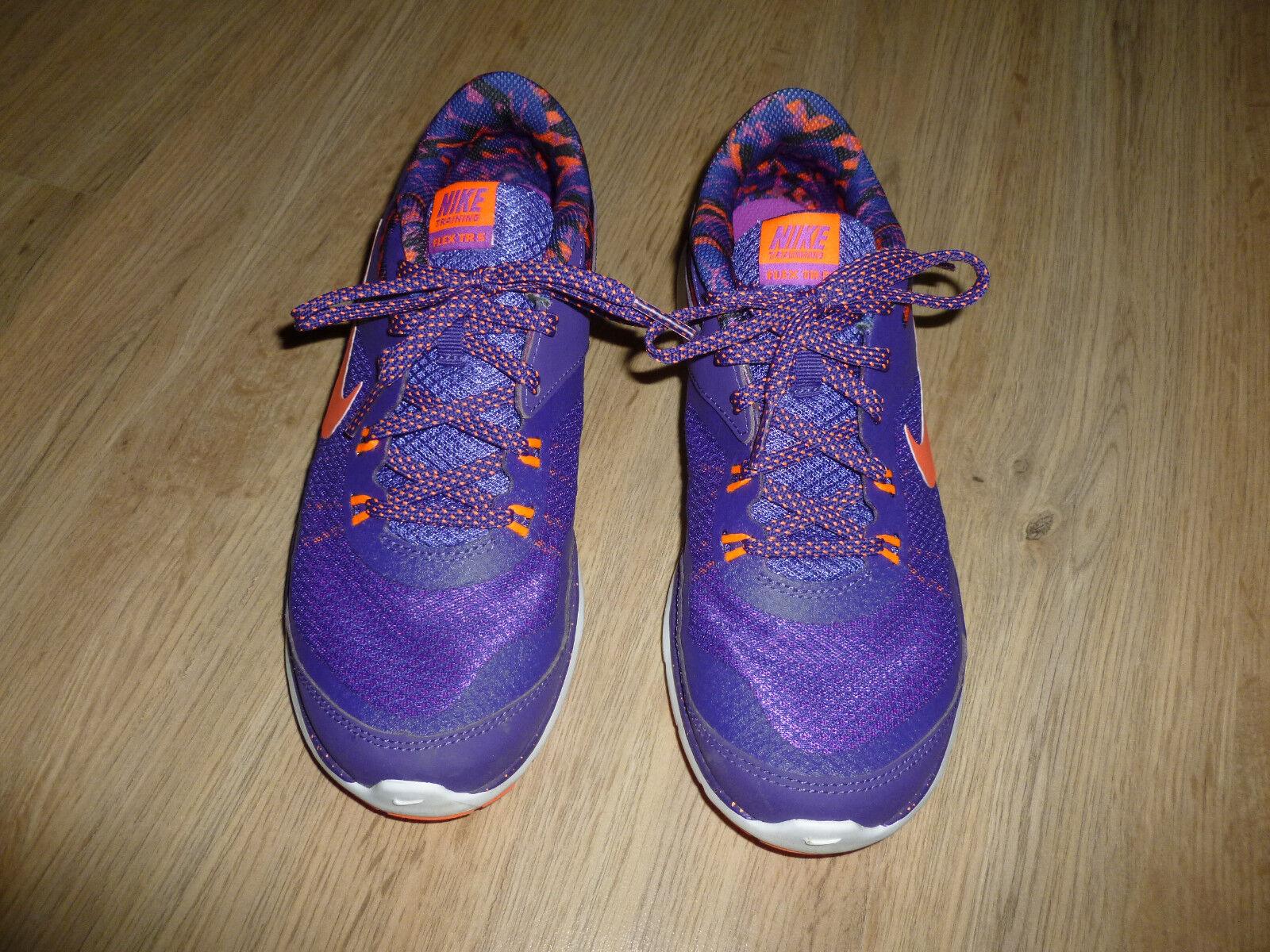 Nike Zapatillas de deporte púrpura Flex TR  5 38,5  deportes calientes