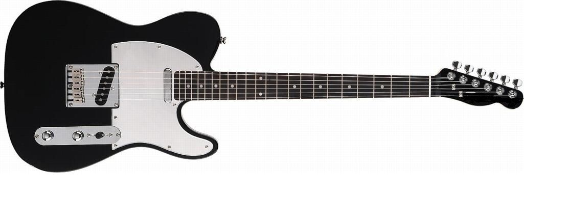 TMG Telly Bausatz Gitarre mit Besteen Bauteilen lackierter Body und toller Hals