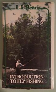 Ll bean introduction to fly fishing vhs videotape ebay for Ll bean fishing