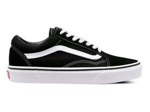 Vans Old Skool Black Unisex Sneaker Leder Canvas VN000D3HY281 Gr.37 - 45 EU