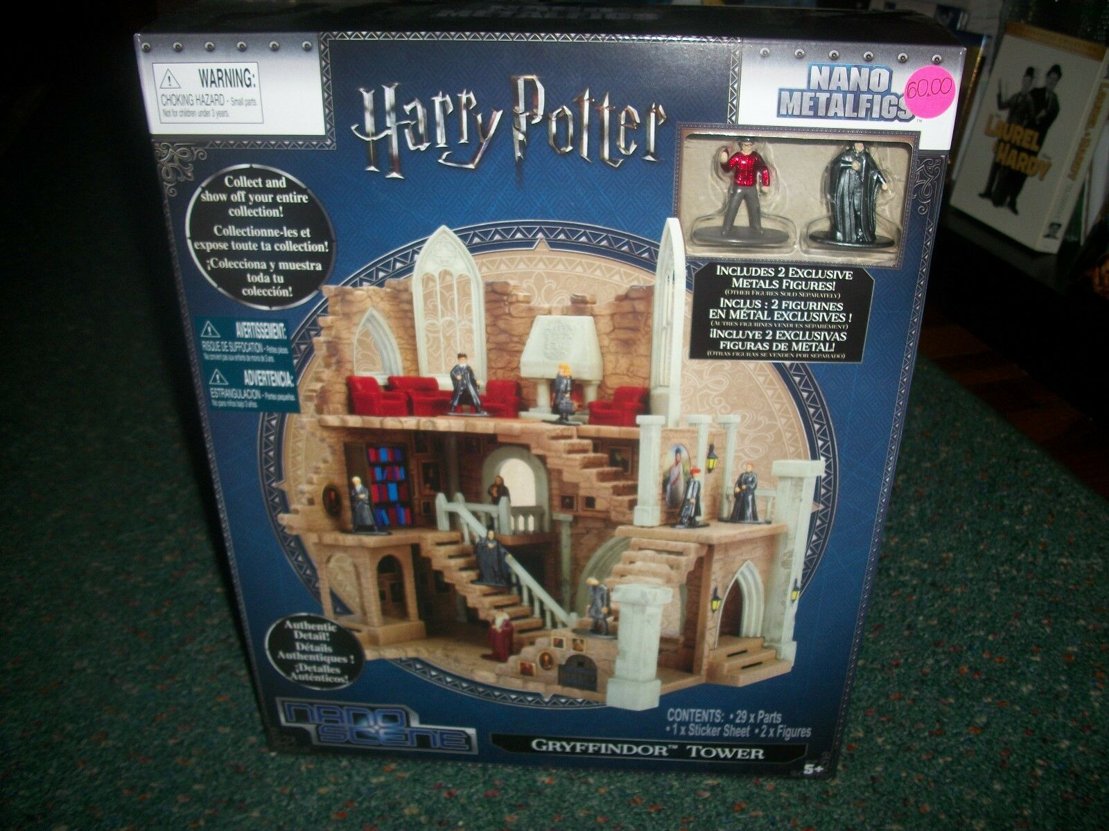 Harry - potter - nano metalfigs - gryffindor tower abgeriegelt.