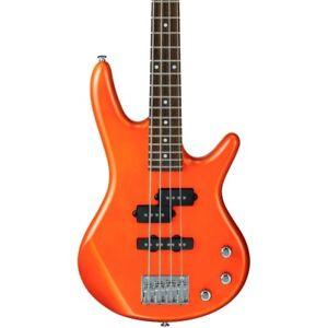 Ibanez-GSRM20-Mikro-Short-Scale-Bass-Guitar-Roadster-Orange-Metallic
