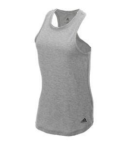 de126b213a371 Adidas Women s Cool Tank Solid Sleeveless Top BQ5923 BQ5917 Yoga ...
