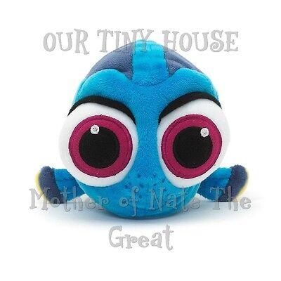 "Disney Store Authentic Pixar Finding Nemo Baby Dory Plush 8/"" Stuffed Animal"