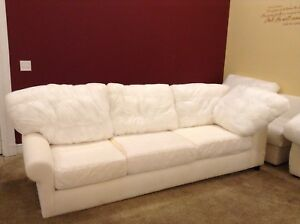 Fabulous Details About Pottery Barn Basic Couch Left Arm Return Sofa Sectional No Slipcover Down Unemploymentrelief Wooden Chair Designs For Living Room Unemploymentrelieforg