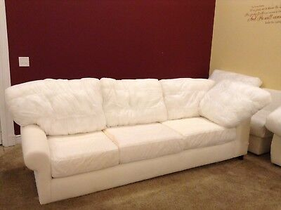 Pottery Barn Basic Couch Left Arm Return Sofa Sectional No