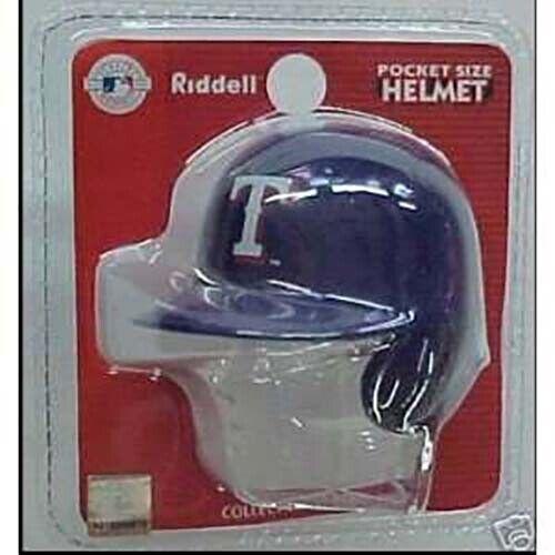 MLB Texas Rangers Riddell Pocket Pro Helmet New