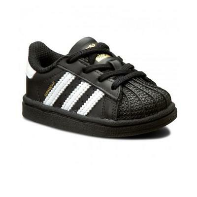 Scarpe sportive bimbo bimba Adidas Superstar BB9078 Nero