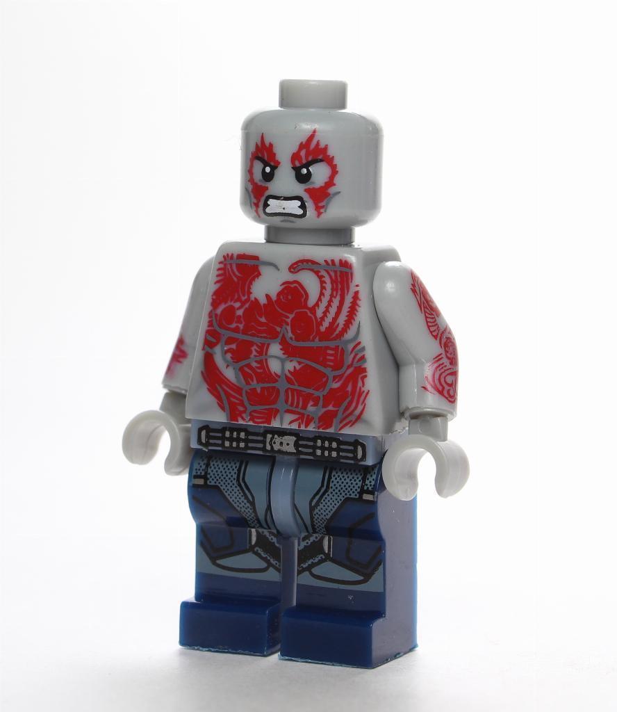 nuovo LEGO DRAX FROM SET  76081 THE GUARDIANS OF THE GALAXY VOL.2 (sh387)  in vendita scontato del 70%