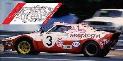 Calcas Porsche 934 Le Mans 1976 48 1:32 1:43 1:24 1:18 1:64 1:87 decals