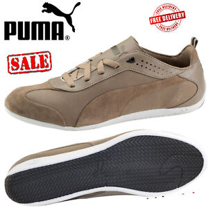 Puma Originals CARO basso da uomo retr in pelle scamosciata stringati Casual Scarpe Da Ginnastica Rrp 65