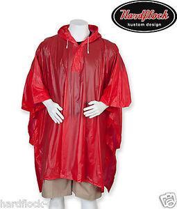 FleißIg Regenponcho Rot Regenjacke Regencape Regenschutz Regenmantel Bundeswehr Angeln Reinigen Der MundhöHle. Regenbekleidung Sport