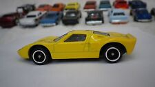 2015 Matchbox Yellow Ford GT40 Hot Wheels Custom Real Riders