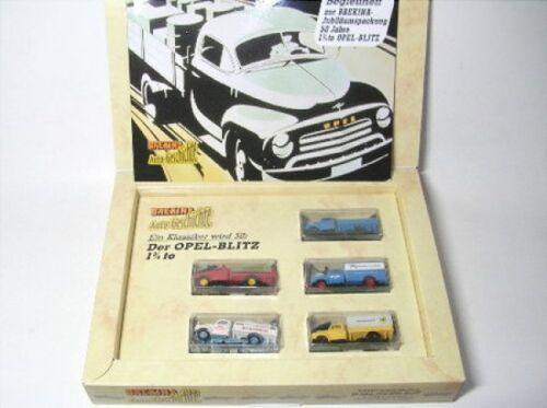 Set 50 años Opel Blitz librito