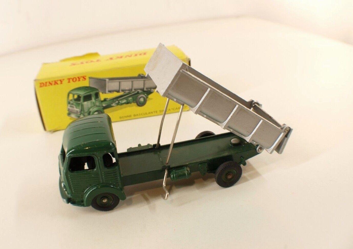 Dinky toys F n° 33 B camion Simca cargo benne basculante jamais joué en boite