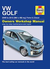 Volkswagen Golf Repair Manual Haynes Workshop Service Manual  2009-2012 5633