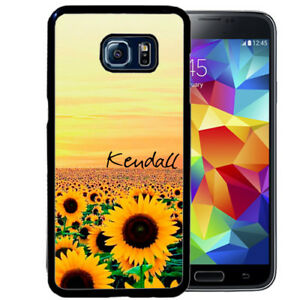 PERSONALIZED-CASE-FOR-SAMSUNG-S9-S8-S7-S7-S6-PLUS-RUBBER-FIELD-OF-SUNFLOWERS