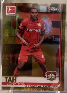 2019-20 Topps Chrome Bundesliga Base Gold Jonathan Tah /50