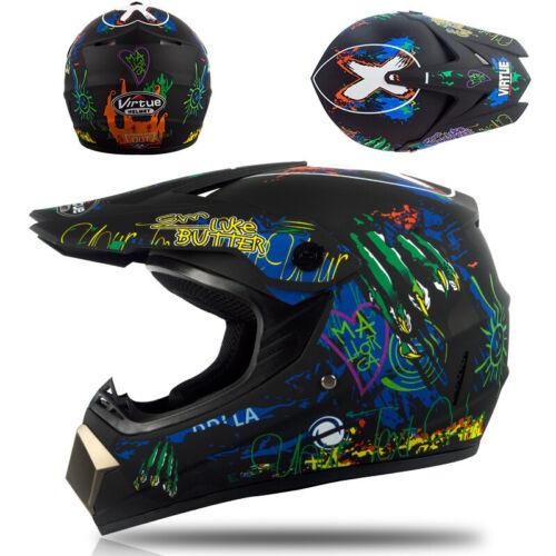 OffRoad Full Face Mountain Bike Helmet Bicycle Motorcycle MTB BMX SkateSports UK