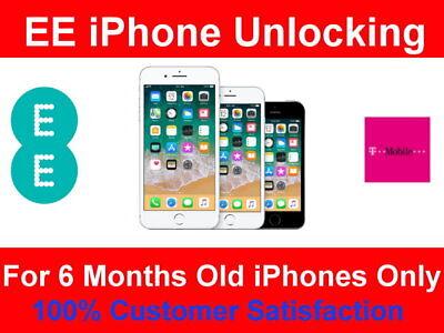Unlock Service IPHONE SE IPHONE 5S IPHONE 5C 5 Unlocking EE TMOBILE UK  APPLE   eBay
