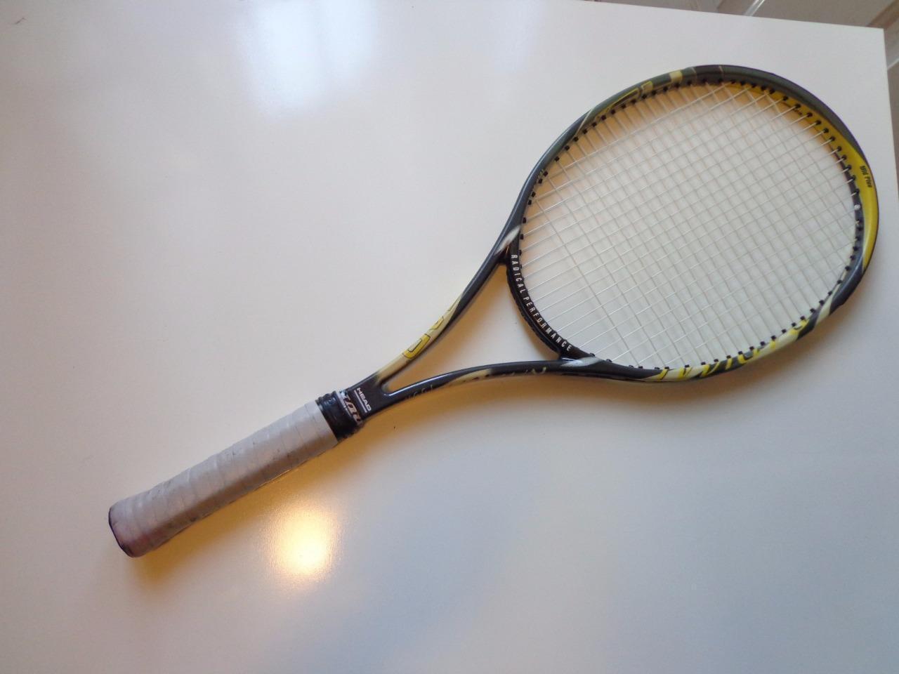 Cabeza rara radical Tour Cebra Hecho En Austria 98 cabeza 4 1 4 Grip Tenis Raqueta