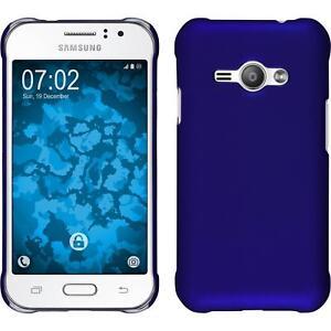 Hardcase-fur-Samsung-Galaxy-J1-ACE-Hulle-gummiert-2-Schutzfolien