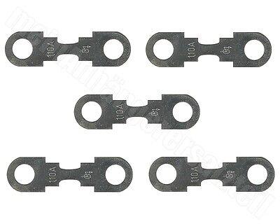 5 x Streifensicherung Blattsicherung 50A 32V Sicherung KFZ Sicherung