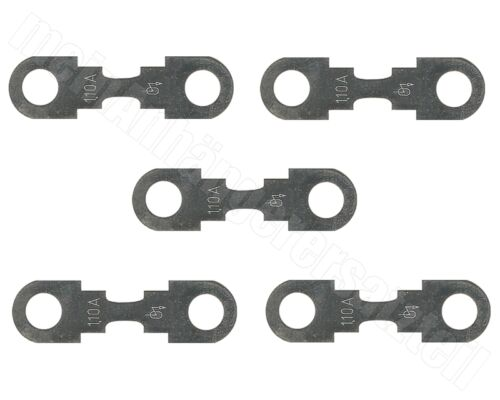 5x Kfz-Sicherung Streifensicherung Blattsicherung 110A 110 Ampere />/> O /</<