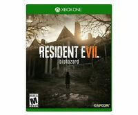 Resident Evil 7 Biohazard (Microsoft Xbox One, 2017) Video Games