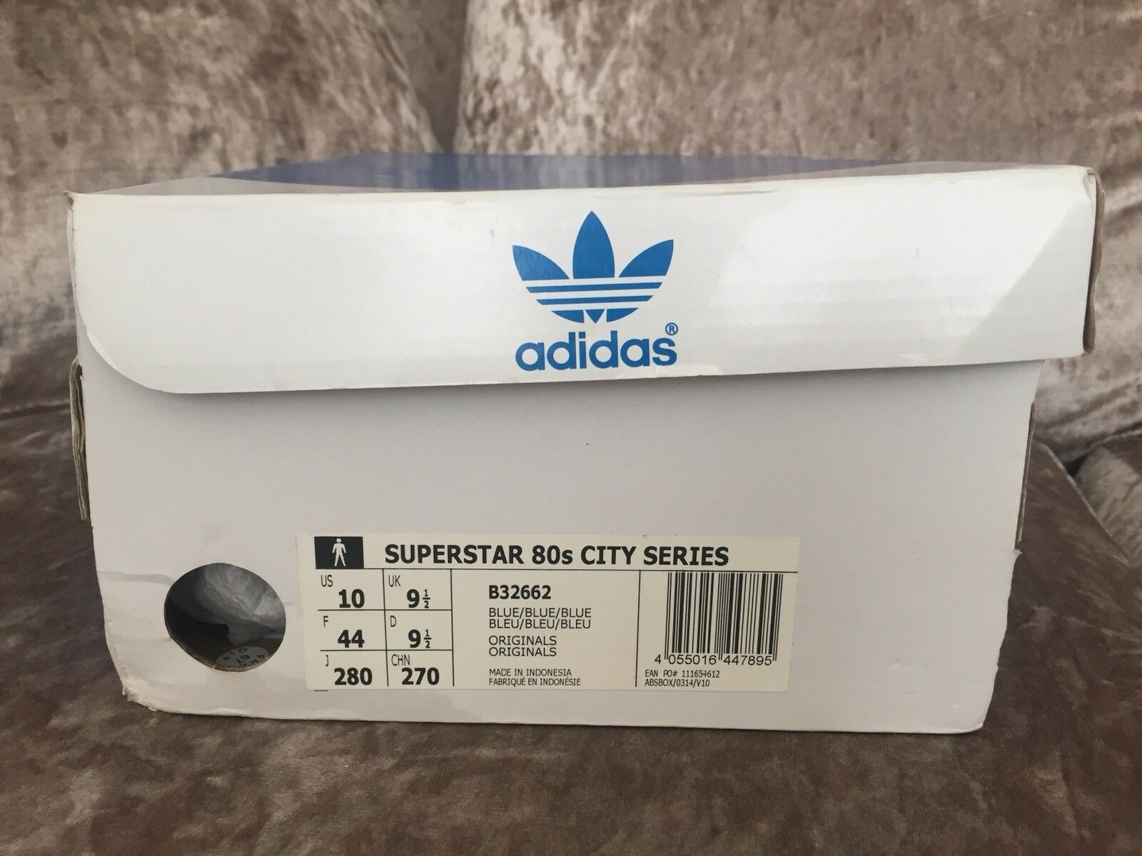 Adidas Blue Superstar 80s City Series