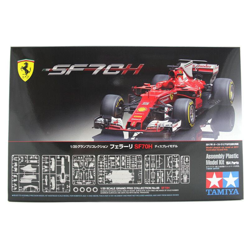 Tamiya Ferrari SF70H Model Set (Scale 1 20) Car Model Kit F1 Vettel 20068 NEW