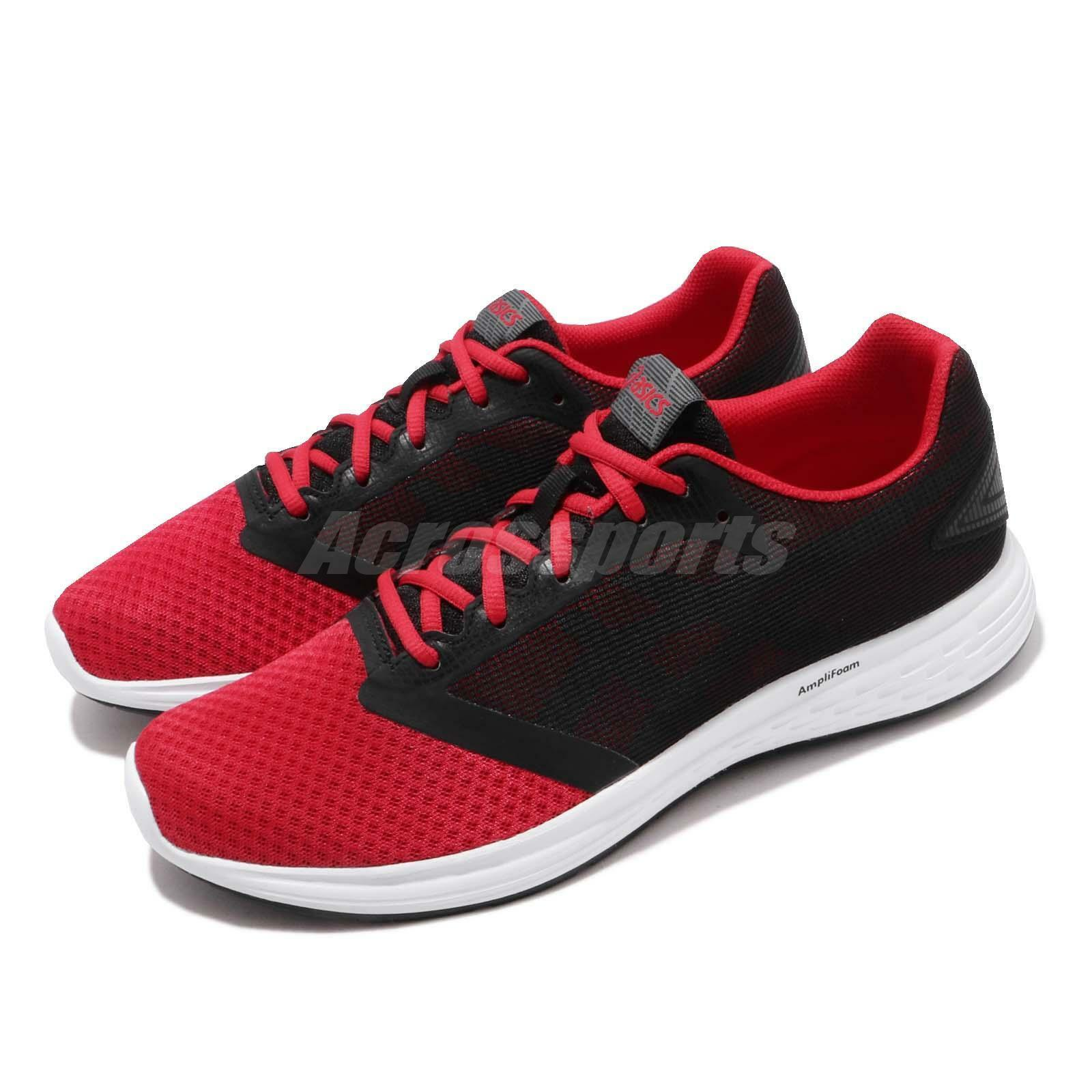 Asics Patriot 10 Classic Red Steel Grey Men Running shoes Sneakers 1011A131-600