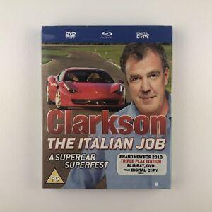 Clarkson-The-Italian-Job-Blu-ray-2010-s-New-amp-Sealed