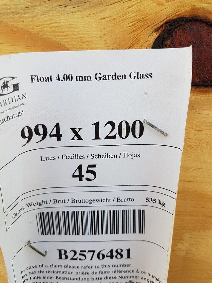 Drivhusglas, 1 lags